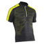 Northwave Skeleton SS Jersey Men black/yellow